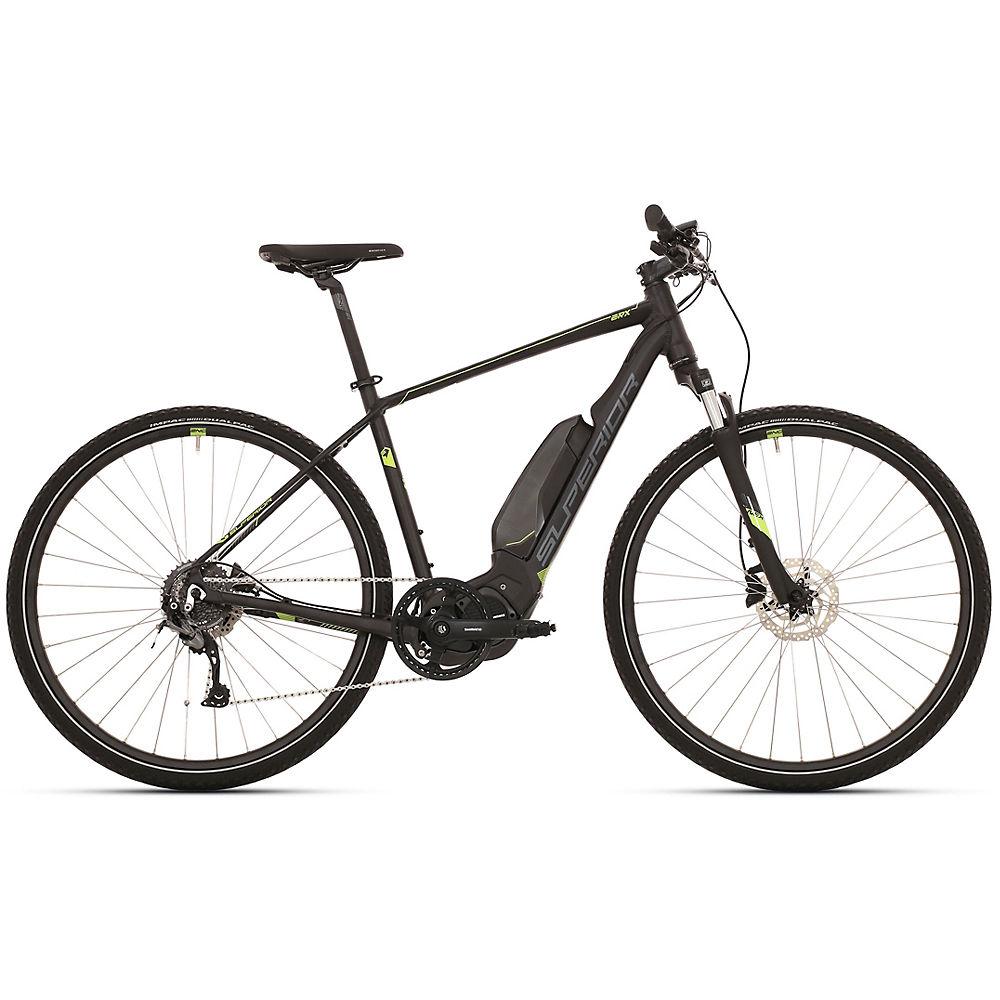 Superior eRX 650 Urban E-Bike 2020 - Black - Grey - XL, Black - Grey