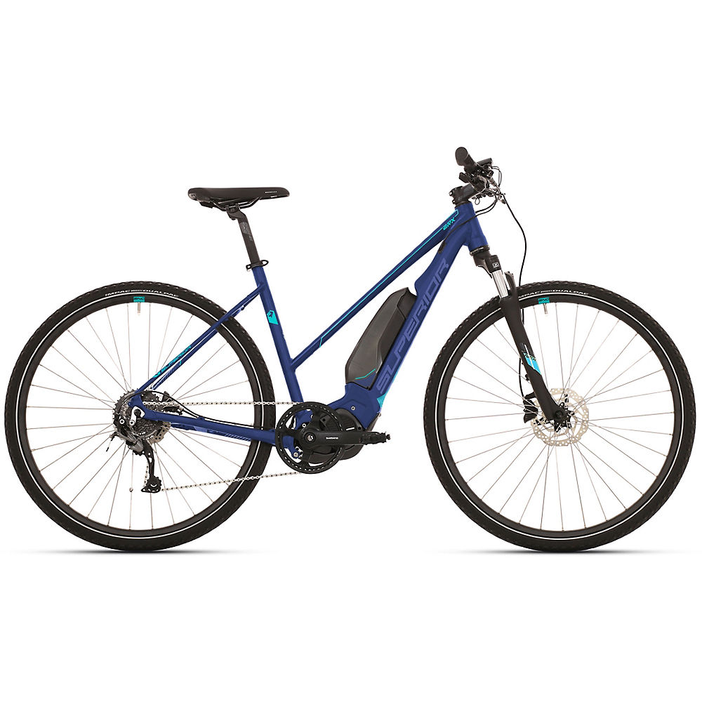 Image of Superior eRX 650 Lady Urban E-Bike 2020 - Bleu, Bleu