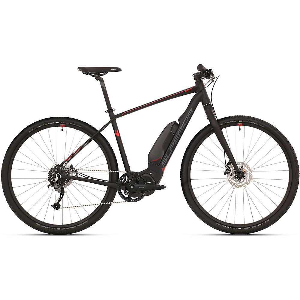 Image of Superior eRX 630 Urban E-Bike 2020 - Noir - Gris - L, Noir - Gris