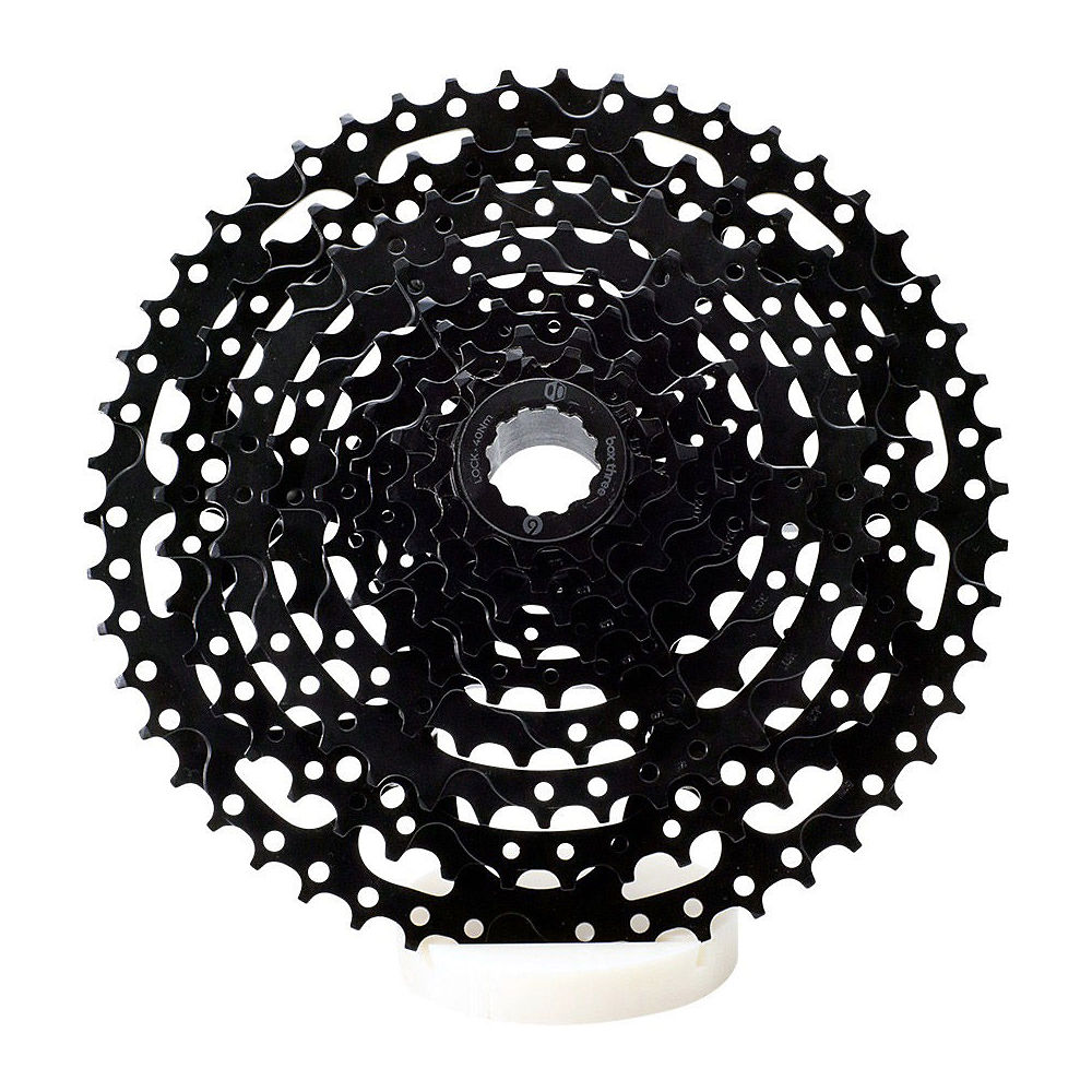 Box Three Prime 9 Speed Cassette - Black - 11-46t  Black
