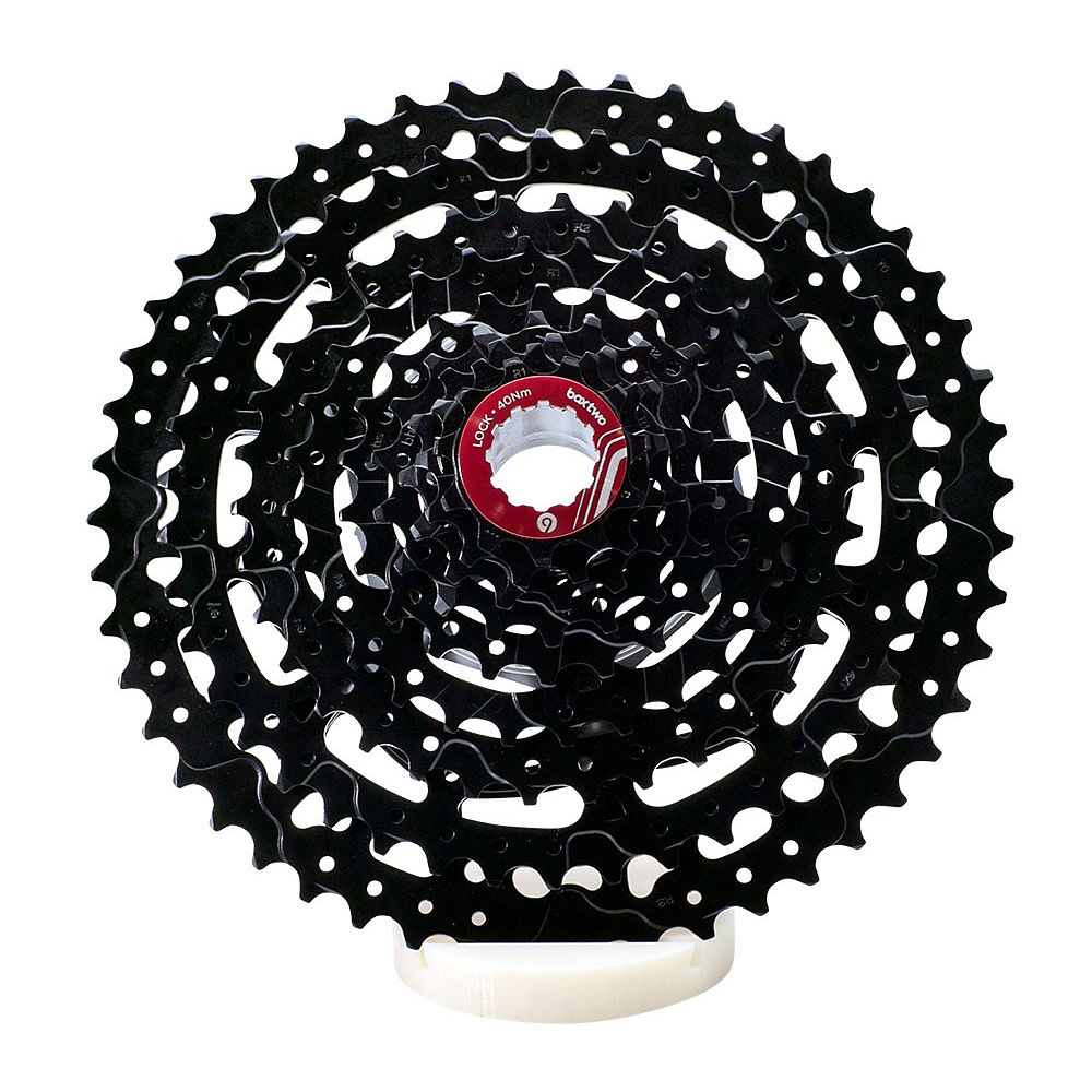 Box Two Prime 9 Speed Cassette - Black - 11-50t  Black