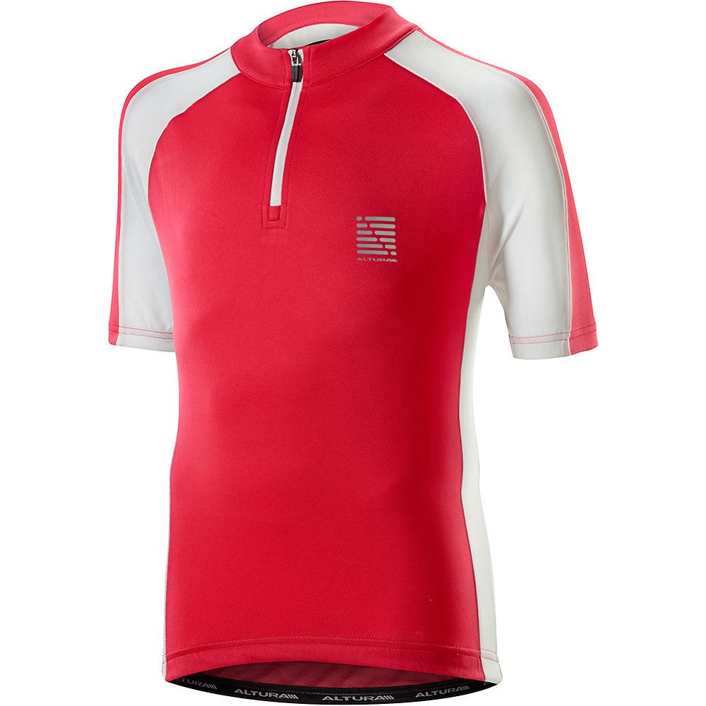 Altura Kids Sprint Short Sleeve Jersey 2019 - Pink-white - 5-6 Years  Pink-white