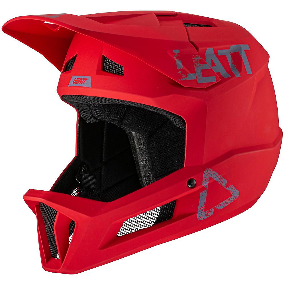 Leatt MTB 1.0 Helmet DH 2021 - Chilli - XL, Chilli