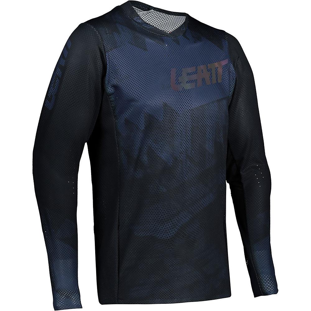 Leatt MTB 4.0 UltraWeld Jersey 2021 - Black - XS, Black
