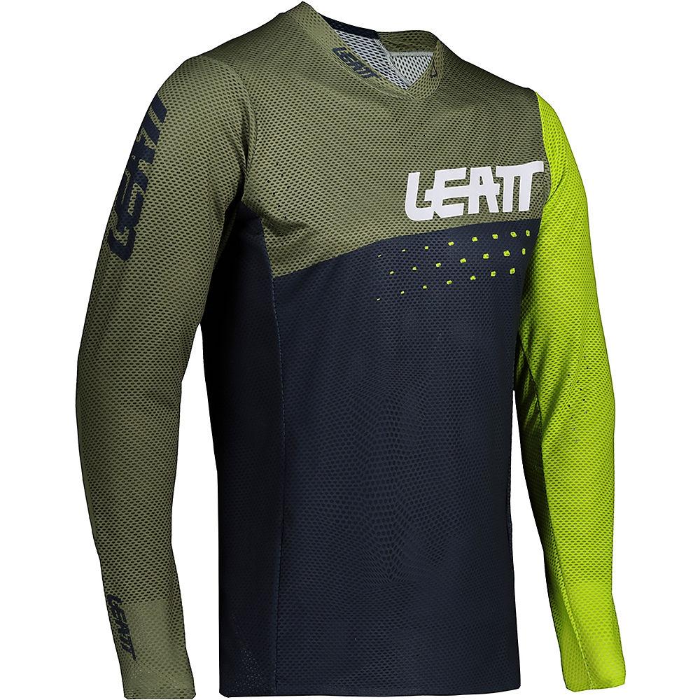 Leatt MTB 4.0 UltraWeld Jersey 2021 - Cactus - XL, Cactus