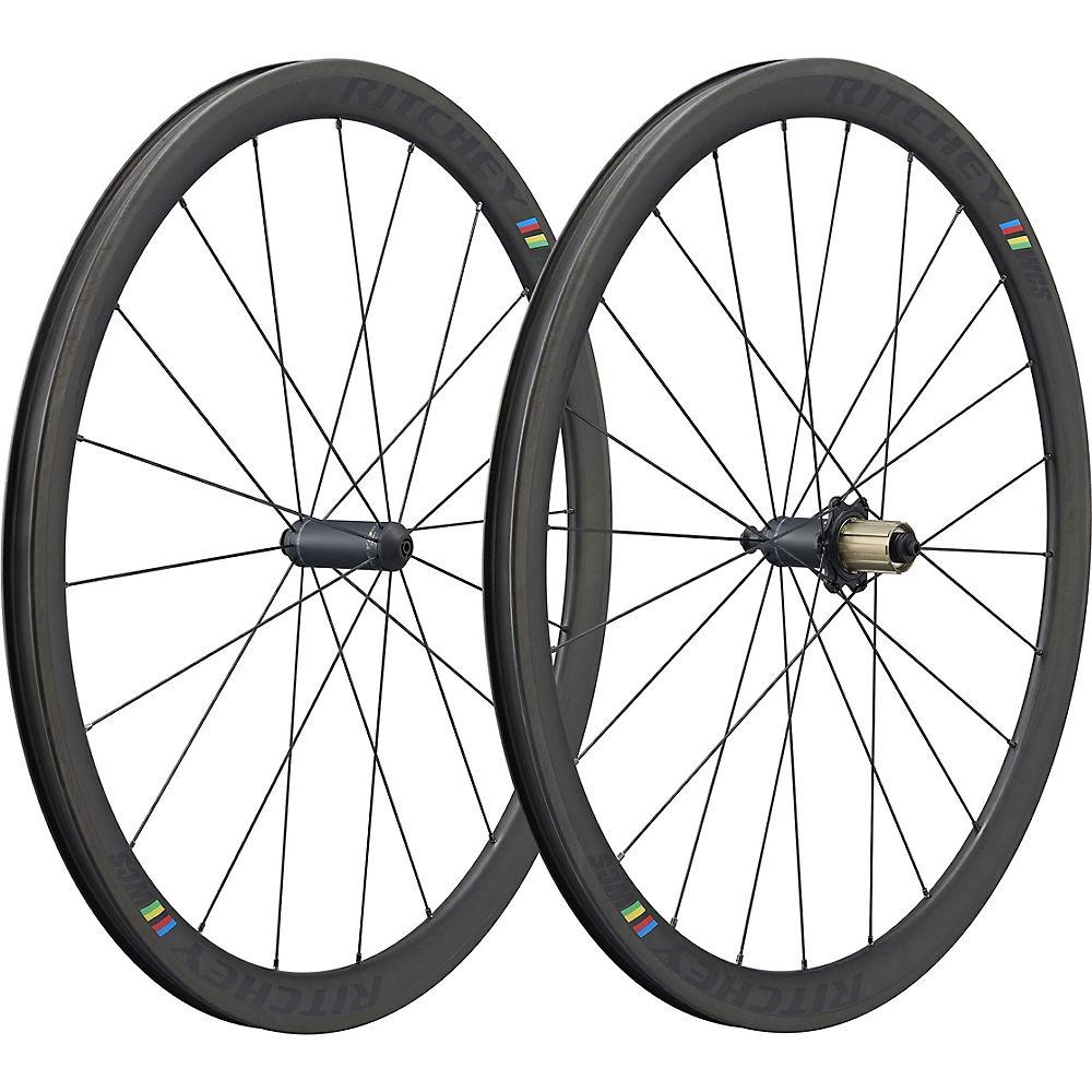 Ritchey WCS Apex II 38 Carbon Tubular Wheelset - Black - Shimano/SRAM, Black