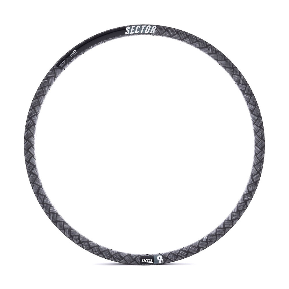 Image of Sector 9i Carbon Rear MTB Rim - Noir - 28H, Noir