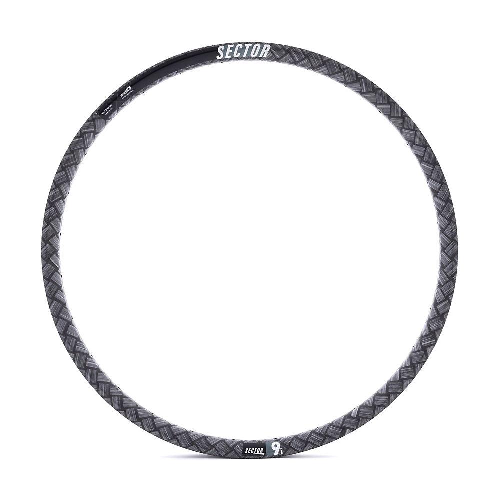 Image of Sector 9i Carbon Rear MTB Rim - Noir - 28H, Noir