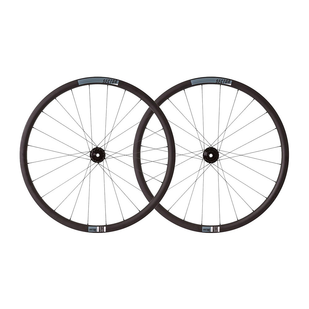 Image of Sector CT30 Carbon CX Wheelset - Noir - Shimano, Noir