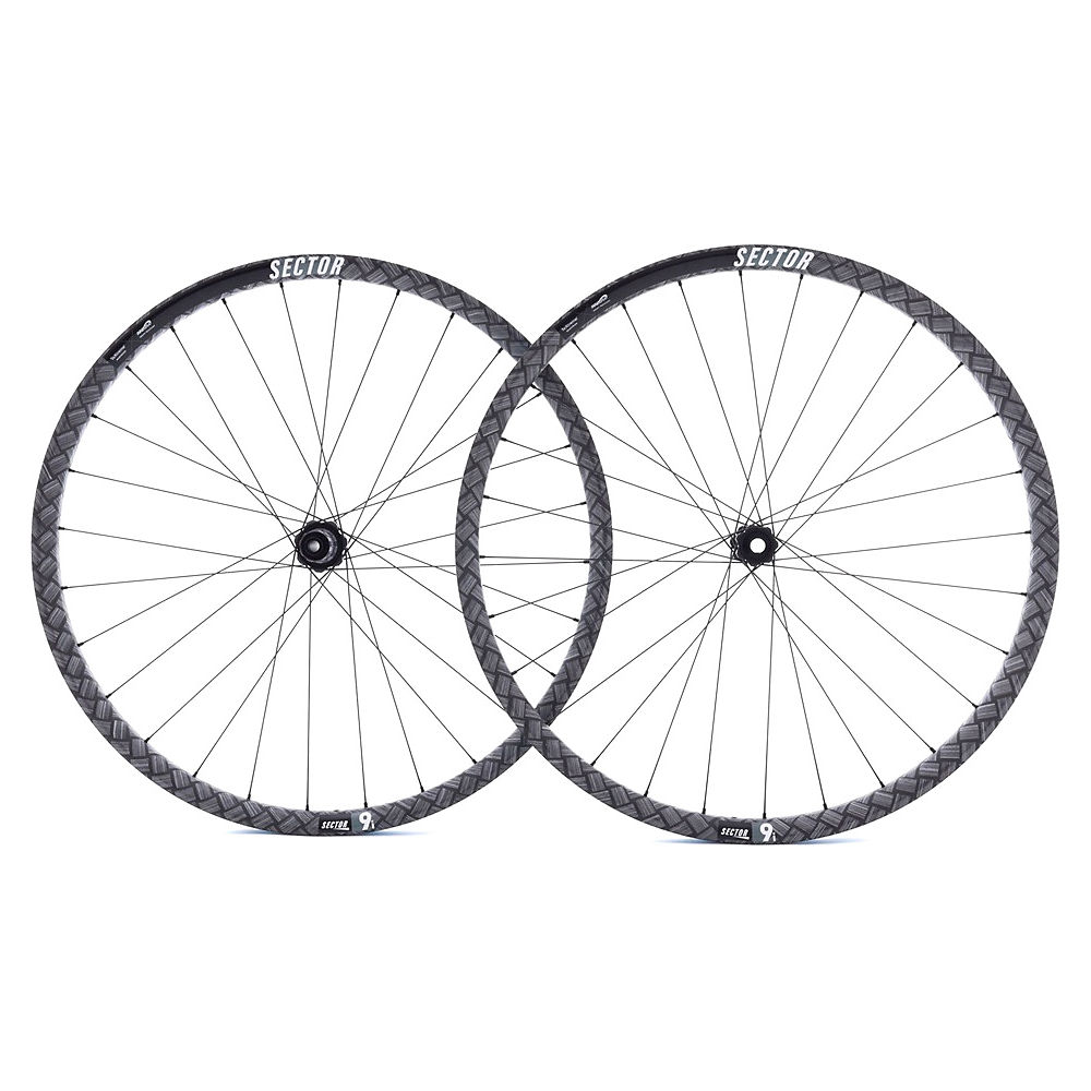 Image of Sector 9i Carbon MTB Wheelset - Noir - Shimano, Noir