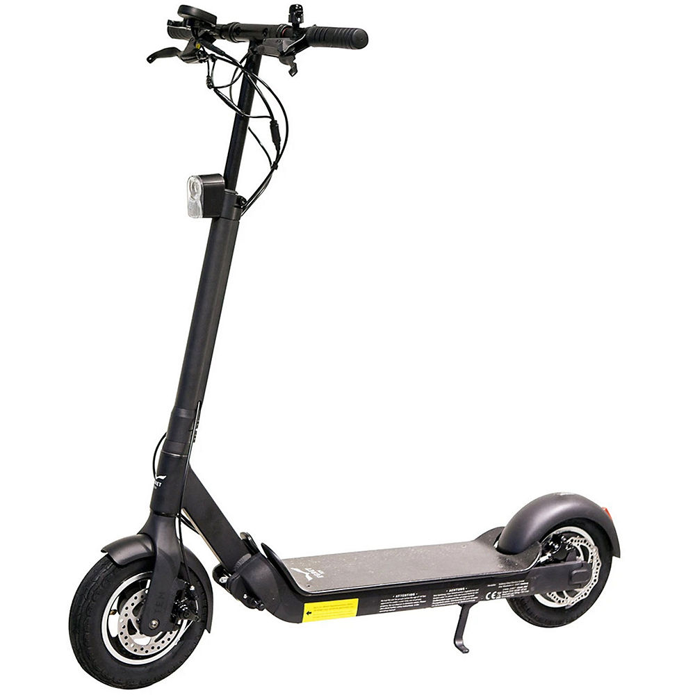Walberg EGRET-TEN V3X Electric Scooter - Black - 48V, Black