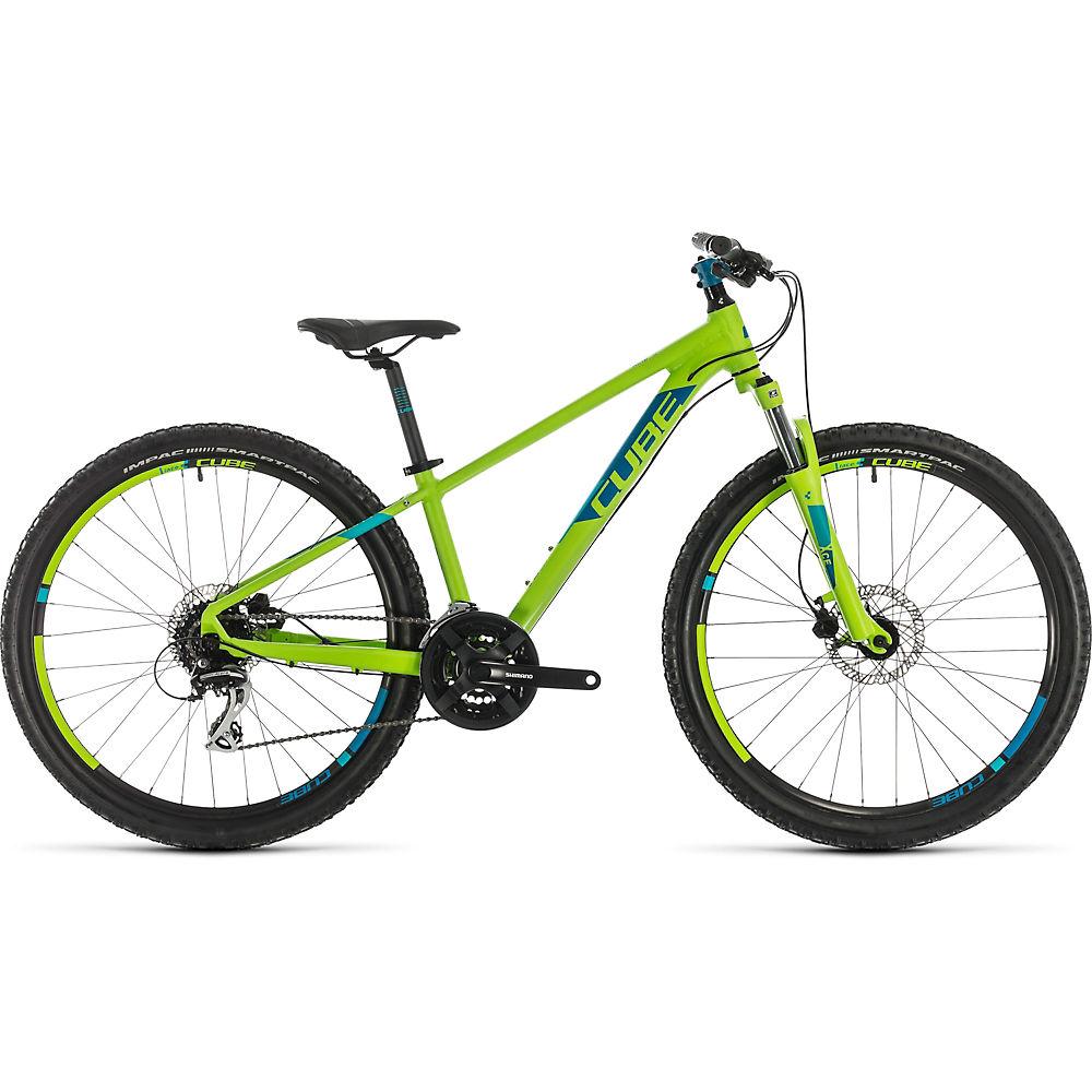 Cube Acid 260 Disc Kids Bike 2021 - Green - Blue, Green - Blue