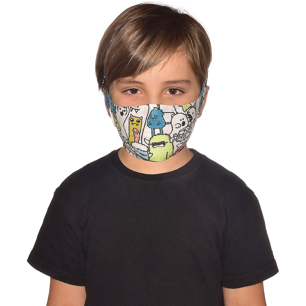 Image of Buff Filter Mask Kids - Boo Multi - One Size, Boo Multi