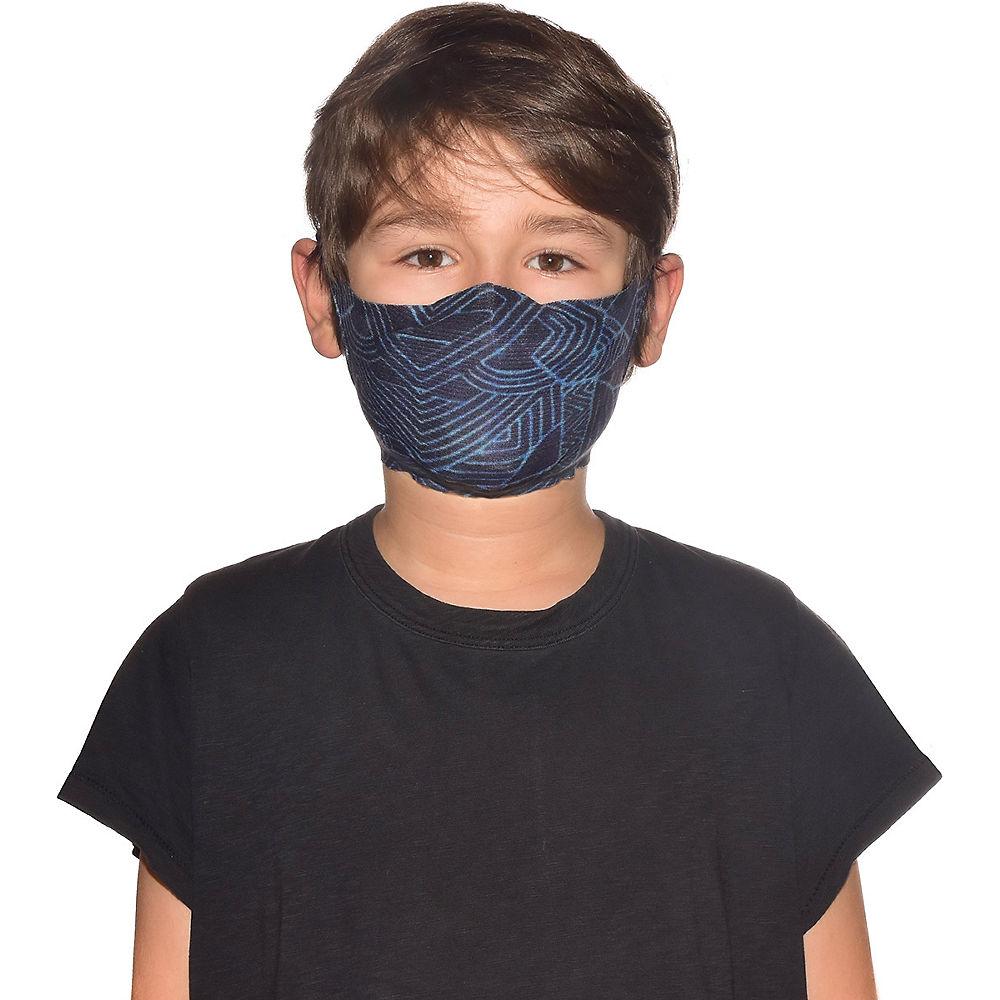 Buff Filter Mask Kids - Kasai Night Blue - One Size, Kasai Night Blue