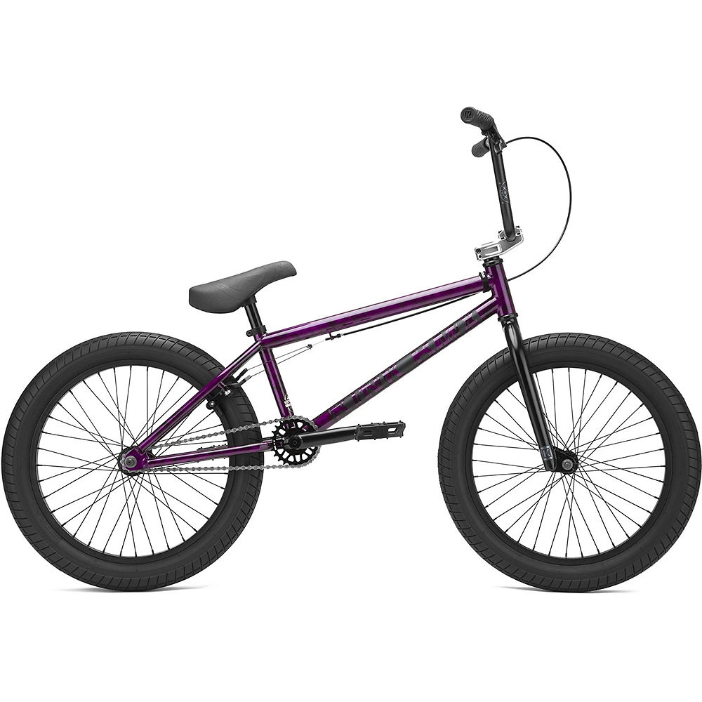 "Image of Kink Curb BMX Bike (2021) - Gloss Smoked Fuchsia - 20"", Gloss Smoked Fuchsia"