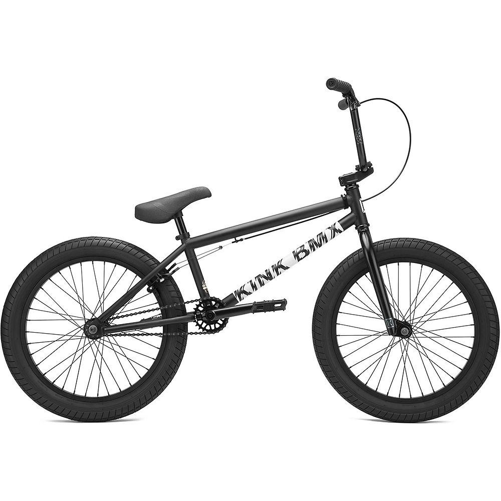 """Image of Kink Curb BMX Bike (2021) - Matte Dusk Black - 20"""", Matte Dusk Black"""