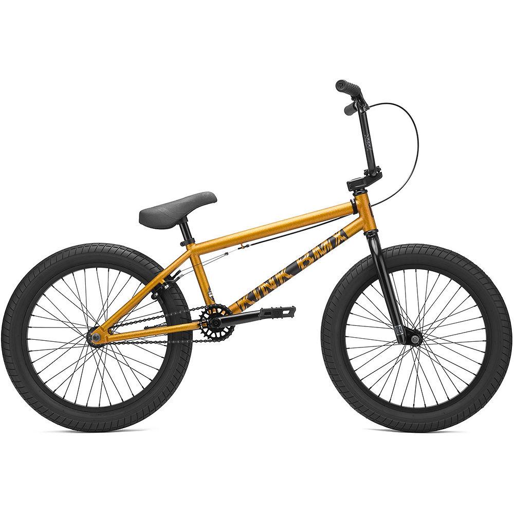 "Image of Kink Curb BMX Bike (2021) - Matte Orange Flake - 20"", Matte Orange Flake"