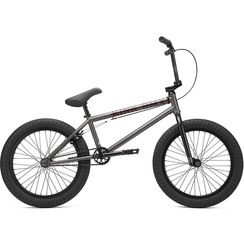 Kink Whip BMX Bike 2021 - Matte Granite Charcoal, Matte Granite Charcoal
