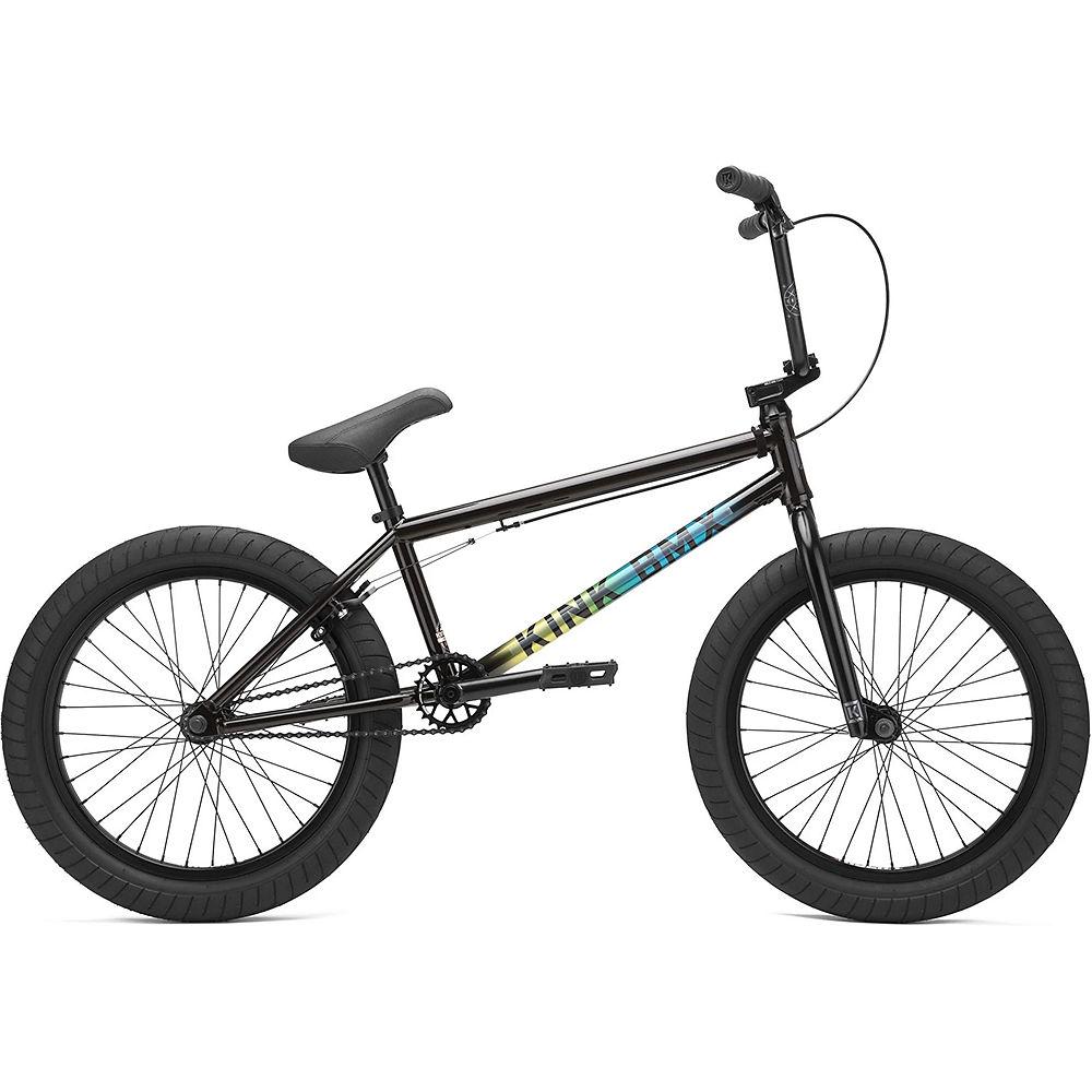 Kink Whip XL BMX Bike 2021 - Gloss Black Fade, Gloss Black Fade