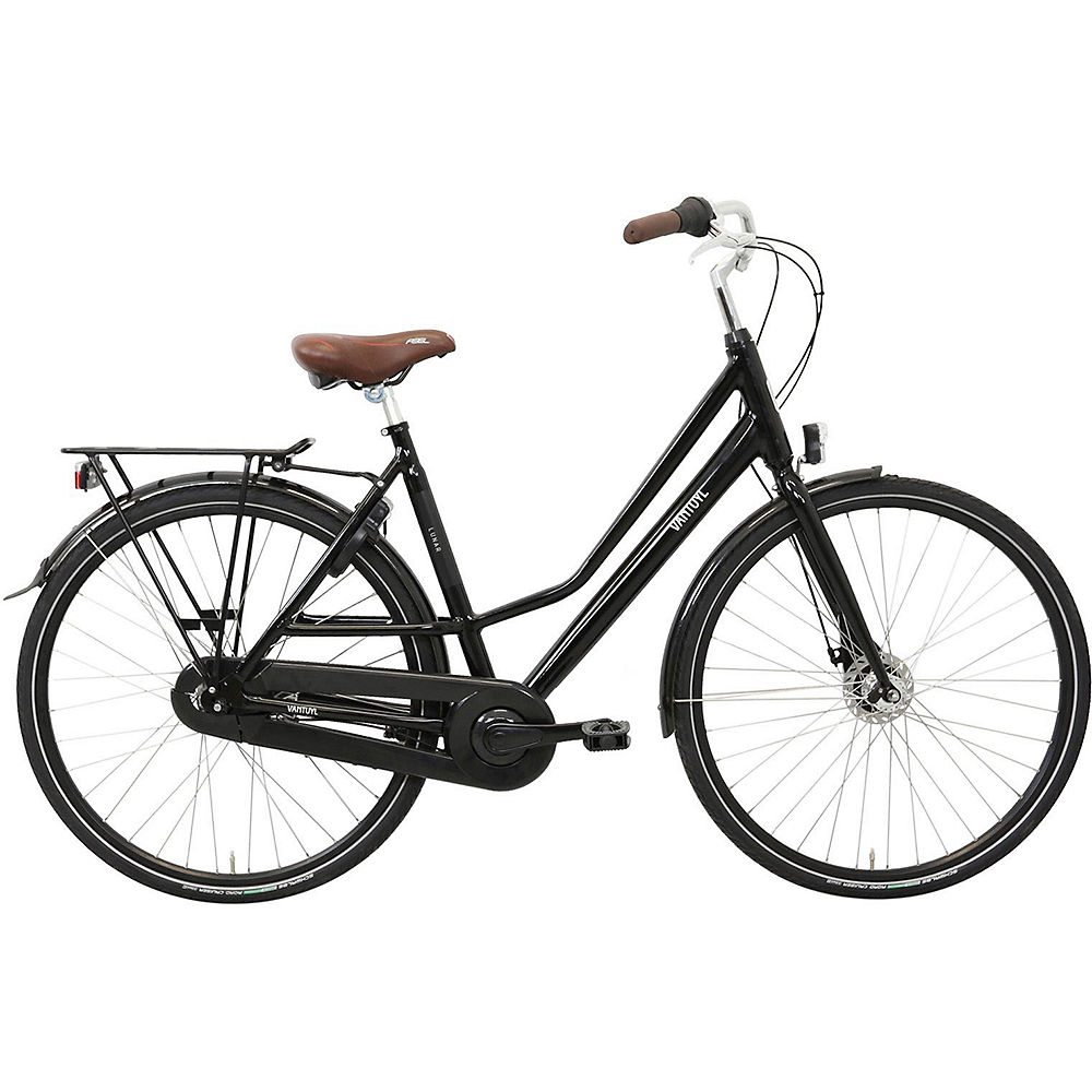 "Image of Van Tuyl Lunar N7 Ladies Urban Bike - Noir - 53cm (21""), Noir"