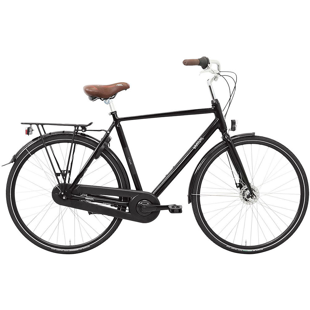 "Image of Van Tuyl Lunar N7 Men's Urban Bike - Noir - 61cm (24""), Noir"
