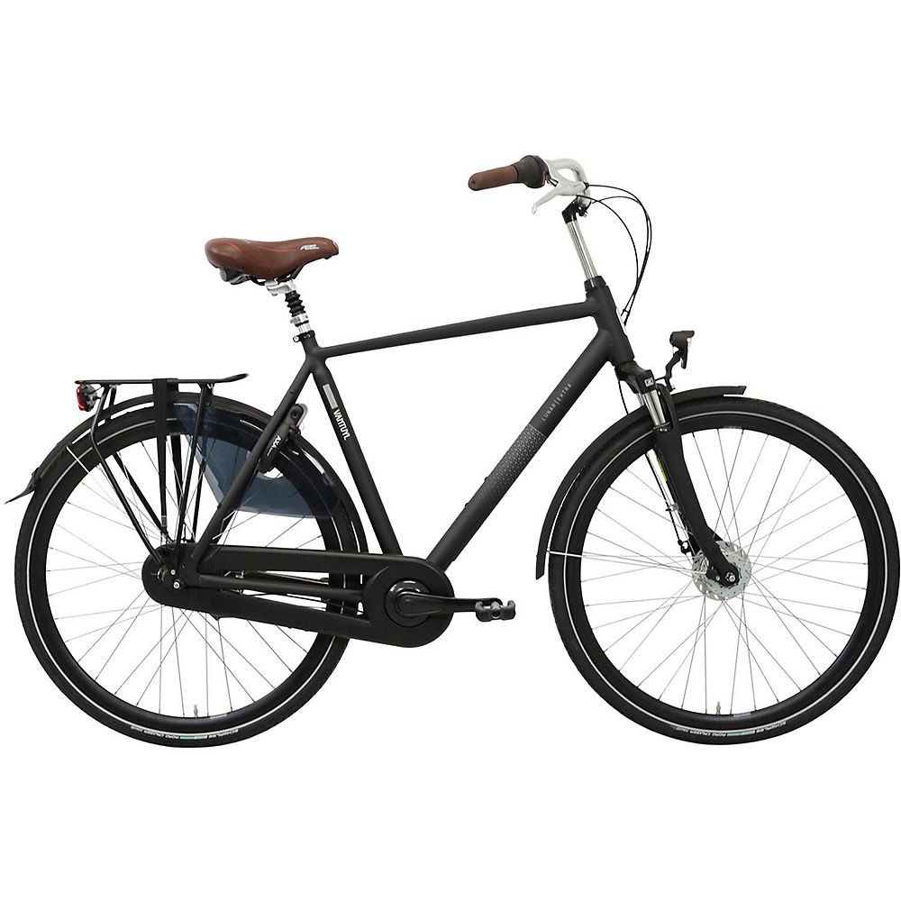 "Image of Van Tuyl Lunar N8 Extra Men's Urban Bike - Noir - 61cm (24""), Noir"