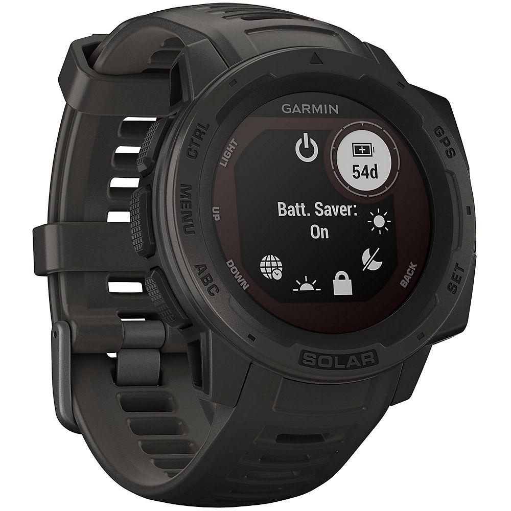 Garmin Instinct Solar GPS Watch - Graphite, Graphite