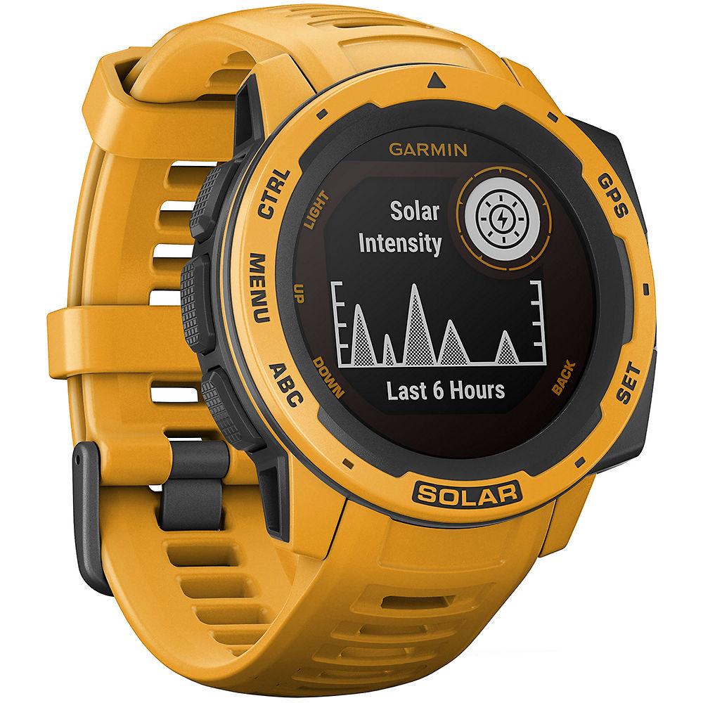 Garmin Instinct Solar GPS Watch - Sunburst, Sunburst