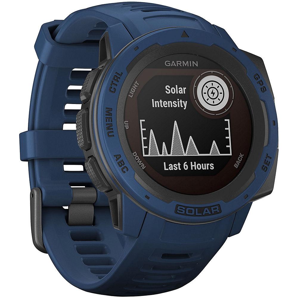 Garmin Instinct Solar GPS Watch - Tidal Blue, Tidal Blue