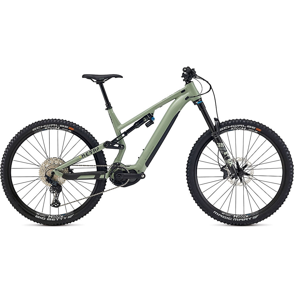 Commencal Meta Power 29 Essential E-Bike 2021 - Heritage Green, Heritage Green