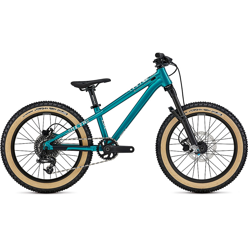 Commencal Meta Ht 20 Kids Bike 2021 - Electroplate Lagoon - 20  Electroplate Lagoon