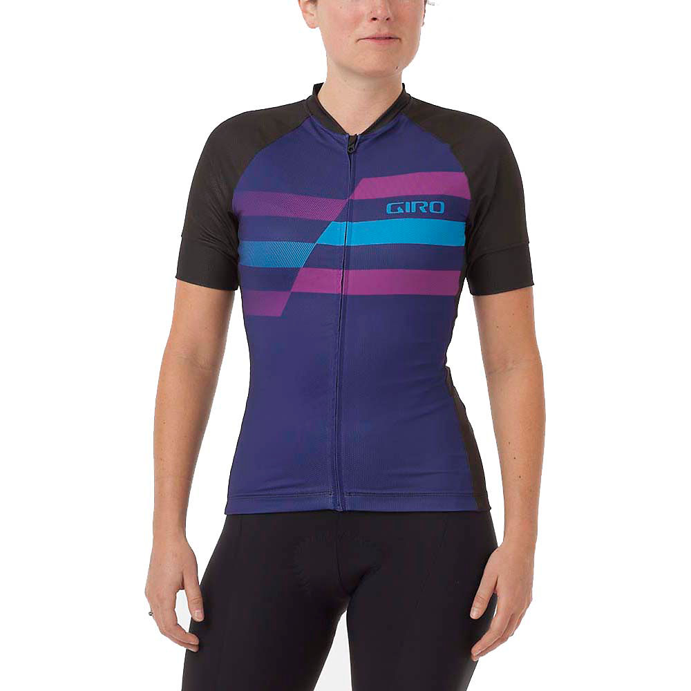 Giro Womens Chrono Expert Jersey (2017) 2017 - Ultra Violet Shredder  Ultra Violet Shredder