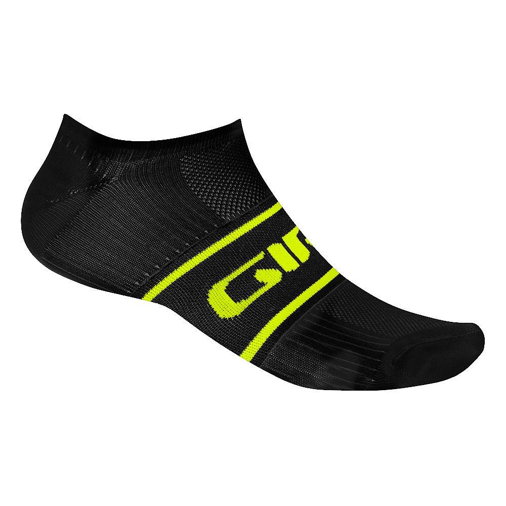Giro Comp Racer Low Socks 2016 - Black-Hi Viz Yellow, Black-Hi Viz Yellow