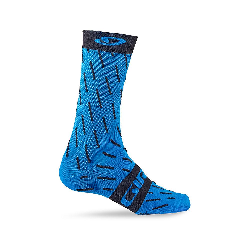 Giro Comp High Rise Racer Socks 2017 - Blue Jewel Echelon, Blue Jewel Echelon