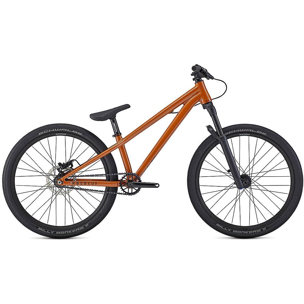 Commencal Absolut 24 Kids Dirt Jump Bike 2021 - Naranja, Naranja