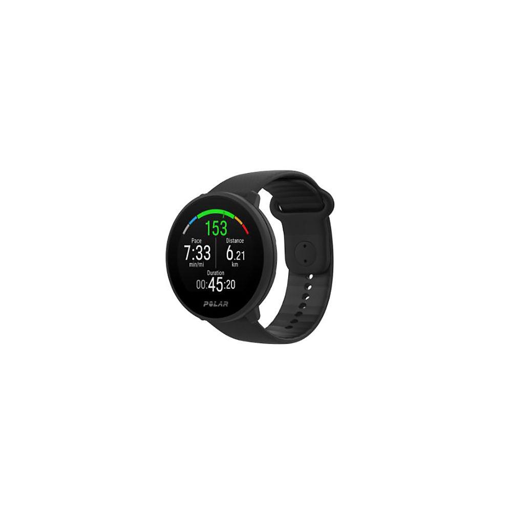 Polar Unite Fitness Tracker Watch - Black, Black