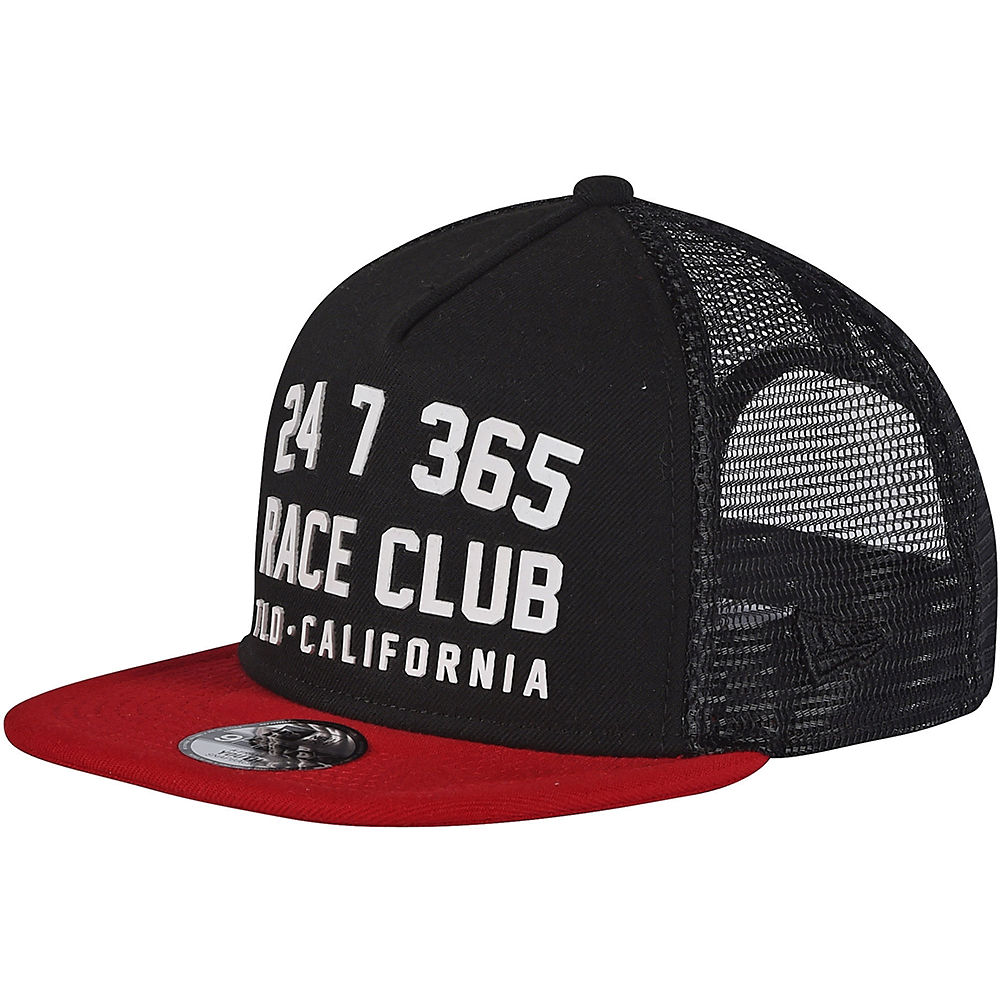 Troy Lee Designs Youth Race Club Snapback Hat 2020 - Red Wine - One Size  Red Wine