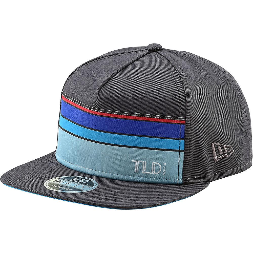 Troy Lee Designs Streamline Snapback Hat 2020 - Graphite - One Size  Graphite