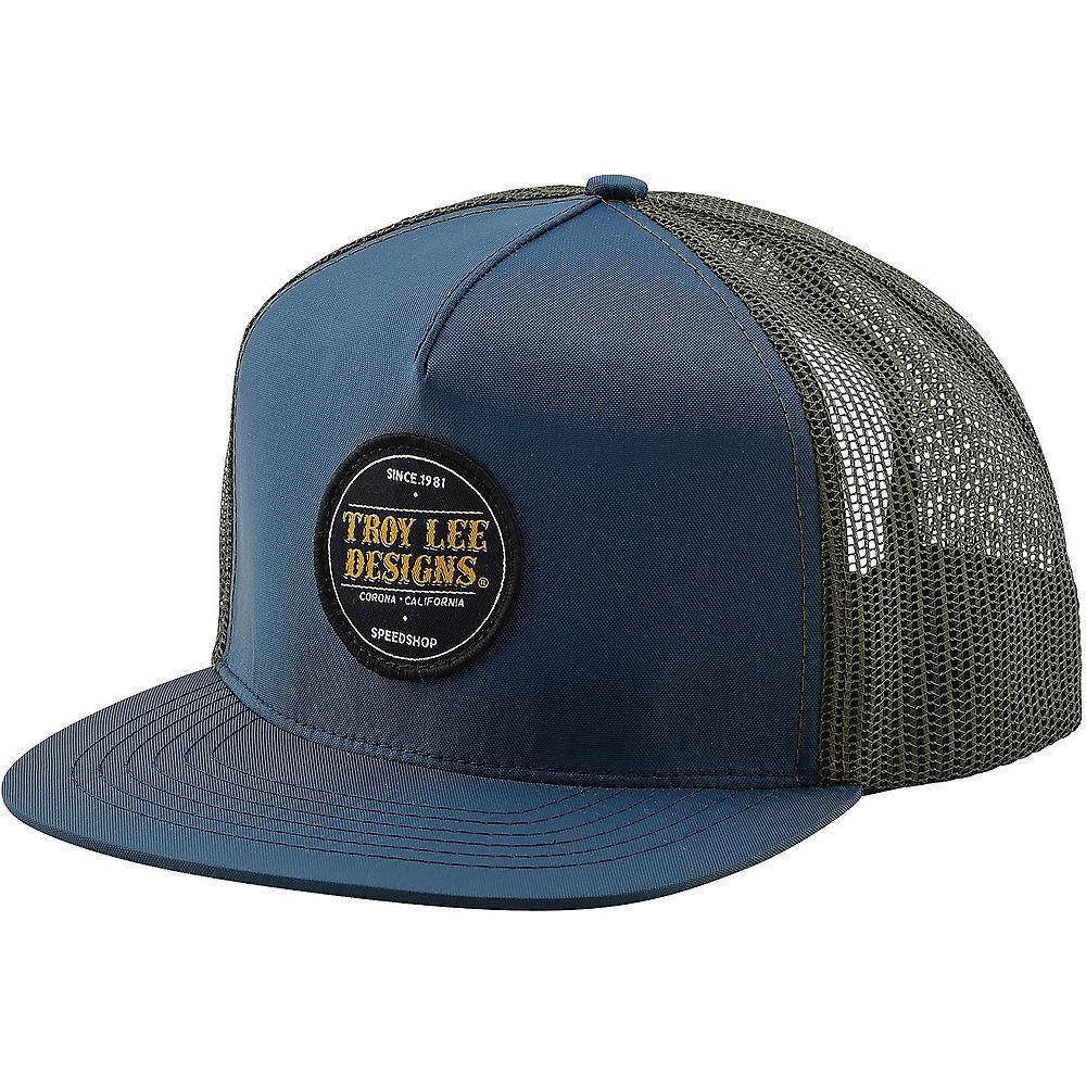 Troy Lee Designs Beer Head Snapback Hat 2020 - Navy - One Size  Navy