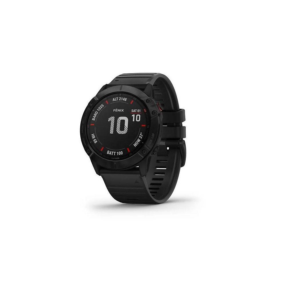 Garmin Fenix 6X Pro Solar GPS Watch - Gris/Negro, Gris/Negro