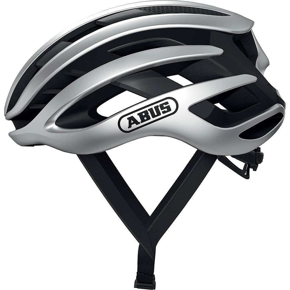 Abus Airbreaker Road Helmet 2020 - Gleam Silver, Gleam Silver
