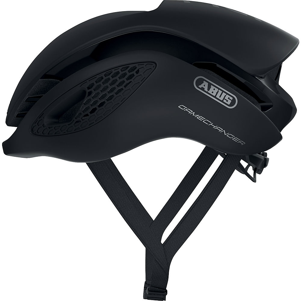 Abus Gamechanger Road Helmet 2020 - Black, Black