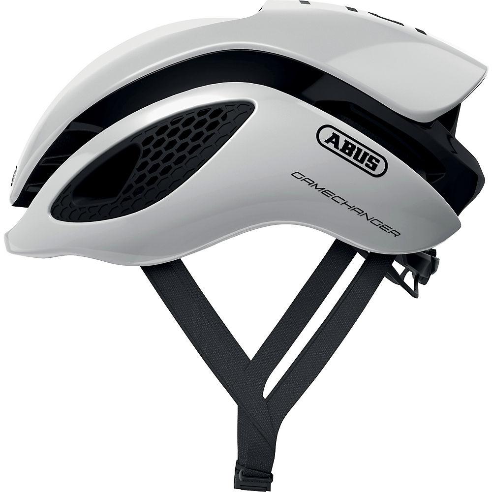 Abus Gamechanger Road Helmet 2020 - Polar White, Polar White
