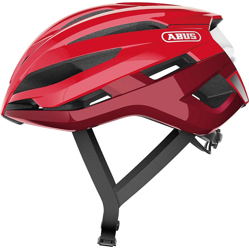Abus Storm Chaser Road Helmet 2020 - Blaze Red, Blaze Red