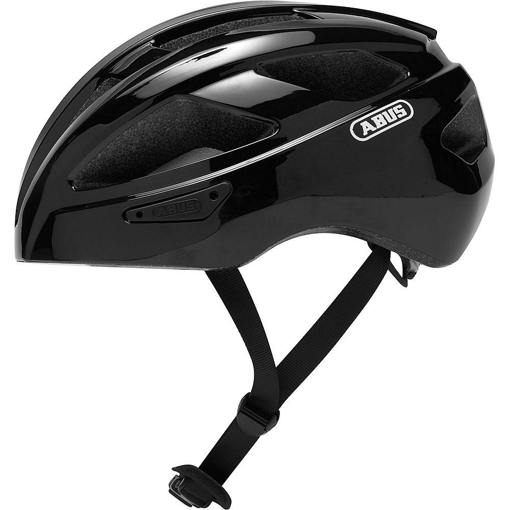 Abus Macator Road Helmet 2020 - Black, Black