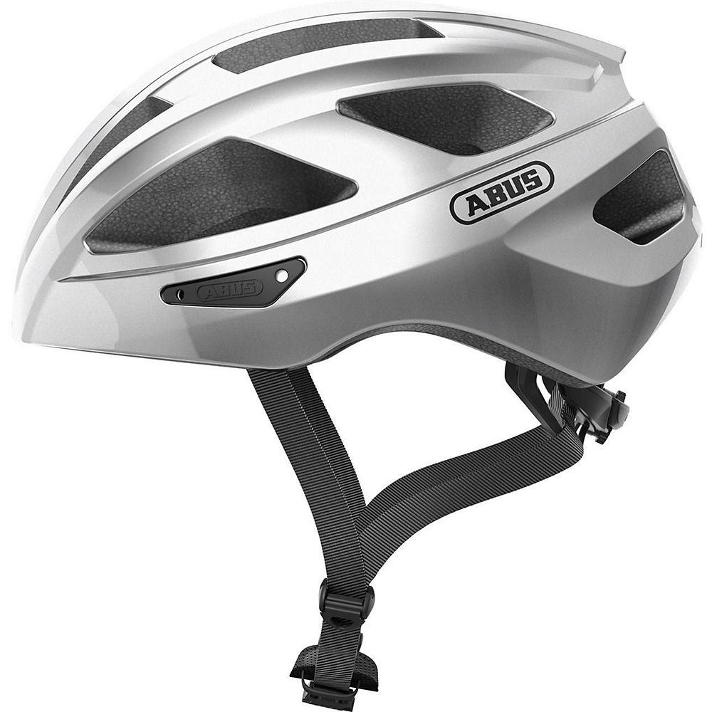 Abus Macator Road Helmet 2020 - Silver, Silver