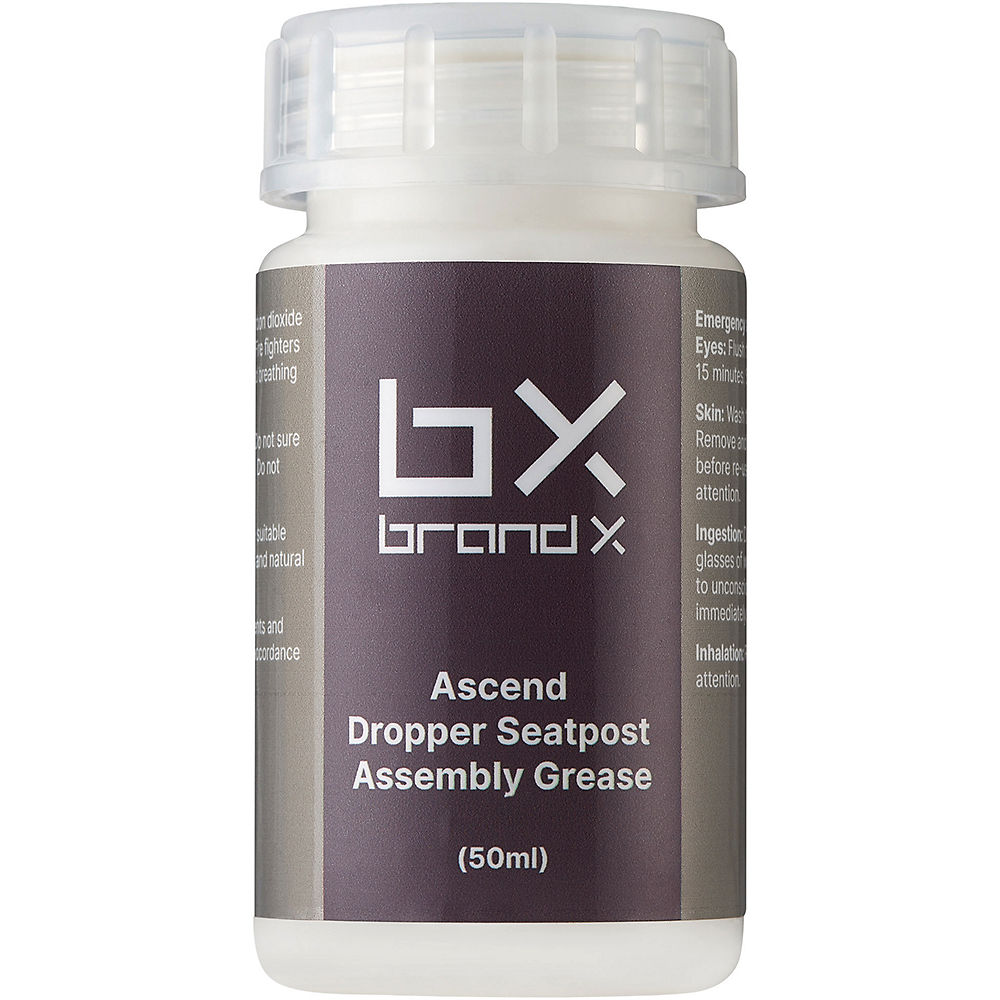 Brand-x Ascend Dropper Assembly Grease (50ml) - Black  Black