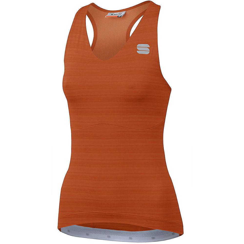 Sportful Womens Kelly Sleeveless Jersey  - Sienna - Xl  Sienna