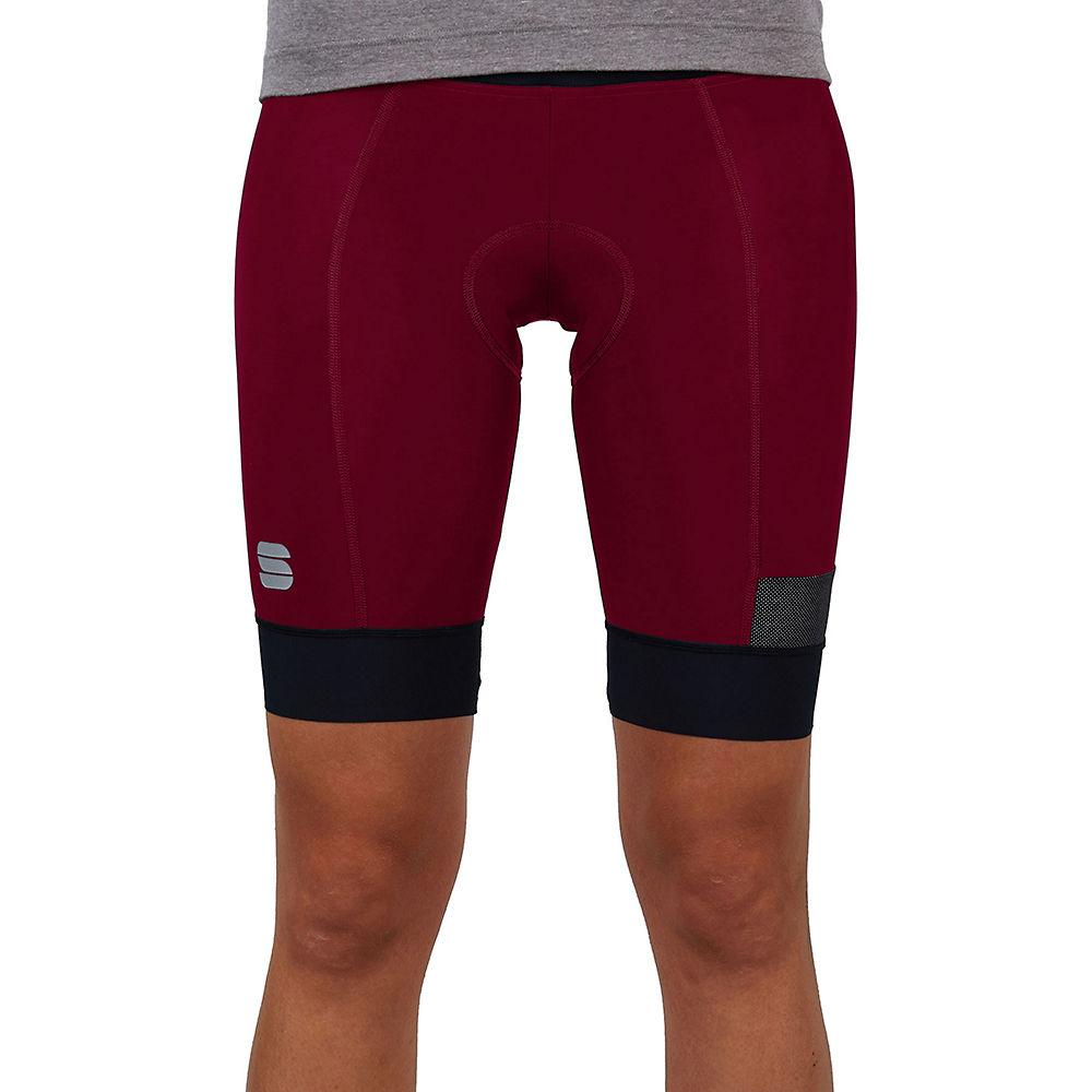 Sportful Womens Giara Shorts  - Red Wine - Xxl  Red Wine