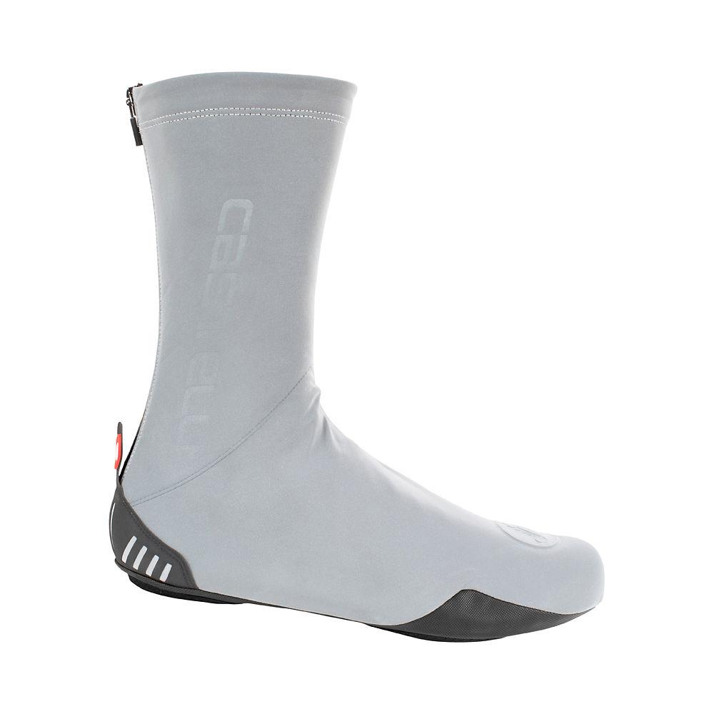ComprarCastelli Reflex Shoe Cover  - Black-Silver Reflex - XL, Black-Silver Reflex